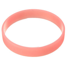 New 1PC Luminous Silicone Rubber Wristband Bracelet Bangle Width 2mm Multi-Color (Intl)