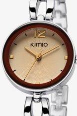 New Brand Elegant Women Dress Watch Stainless Steel Bracelet Watch Women Quartz Watches For Women
