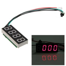 New DC7~30V Digital Led Electronic Time Clock Watch For Car Auto Motorcycle Red