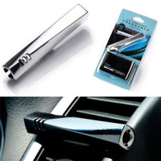 New Luxury Silver Clip-on Flavor Air Freshener Auto Perfume For Car Vehicle
