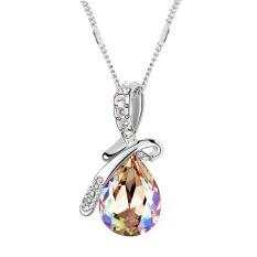 New Swarovski Elements Necklace Man Tingfang High - Grade Crystal Jewelry Jewelry - Luminous Green 11102