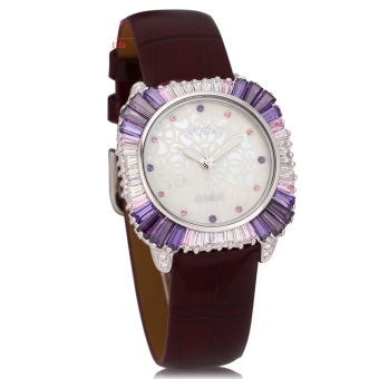 Nonof Marisa Diamond Fashion Watch Authentic Hot Temperament Table Decoration Square Watch New Student Table