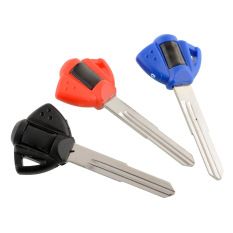 OEM 3 Color 3pcs Blank Key Shell For Suzuki Motorcycle Car Auto (Intl)