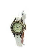 OEM 585 Women's Watches Classic Analog Thin Band (White)