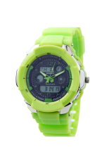 OEM 731 Unisex Mens Wrist Watches Sport Watches Plastic Band LED (Green)