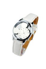 OEM 9687 Women's Quartz Watches Mouse Head Dial Hollow (White)