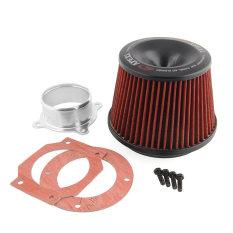 OEM Apexi Universal Car Vehicle Power Intake Air Filter 75mm Dual Funnel Adapter HOT (Intl)