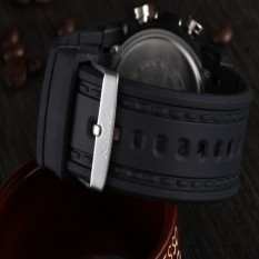 OHSEN AD0721 Men Fashion Digital Rubber Wrist Watch (Intl)