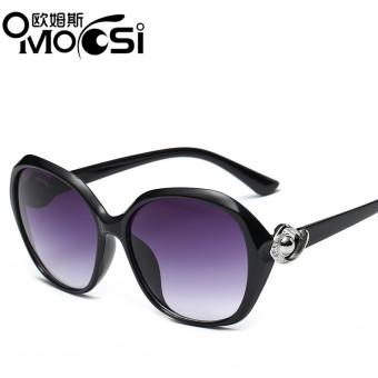 Anak Perempuan UV Perlindungan Bulat Kacamata Hitam Modis. Source · Omoosi  Kacamata . 9dab2e97ab
