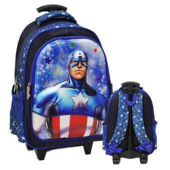 Onlan Marvel Avengers 6D Timbul Anti Gores Tas Trolley