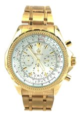 Orkina Men's Business Chronograph Gold Stainless Steel Strap Wrist Watch ORK-031X (Intl)