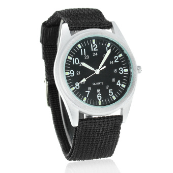 ORKINA P104 Men's Military Style Fashionable Watches With Luminous Pointer - Black