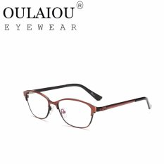 Oulaiou Fashion Accessories Anti-fatigue Trendy Eyewear Reading Glasses OJ619 - intl . Source ·