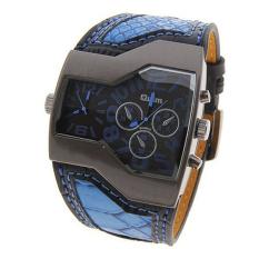 Oulm Luxury Brand Men Watch Quartz Mens Military Watch (Blue) (Intl)