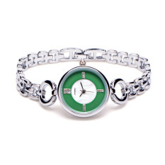 Oxoqo Korean Fashion Bangle Bracelet Watch Explosion Circular Flow In The Geneva Female Students Watch Quartz Watch