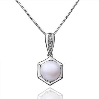 P023 Beautiful Pearl Pendants For Girl Friend Best Gift - Intl
