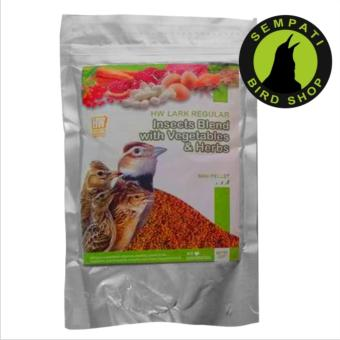 Pakan Burung Branjangan Insect Blend With Vegetables Reguler Hw