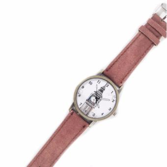 Paroparoshop Vintage London Watch - Brown