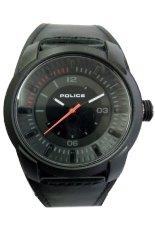Police Jam Tangan Pria - Hitam - Leather Strap - P326
