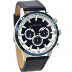 Police jam tangan Pria Leather Strap