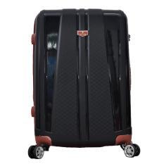 Polo Team Tas Koper Hardcase EXPANDER & TSA Lock Size 20 inch 808 - Hitam