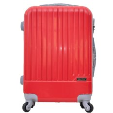 Polo Team Tas Koper Hardcase Kabin 20 inch 081 - Merah