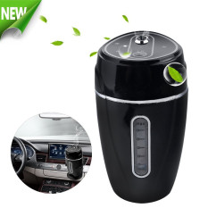 Portable Mini USB Car Humidifier Small Air Mist Purifier With Vehicle Mount - Travel Diffuser For Car, Office And Home Use - Intl
