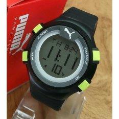Puma - Jam Tangan Digital - Rubber Strap - P70y32G Hitam (Black)