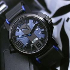Puma - Jam Tangan Digital - Rubber Strap - PM5454ED Hitam (Blue)