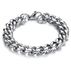 Punk Style Men's Classical Biker Bicycle Chain Bracelet 316L Stainless Steel High Polished Fashion Jewelry