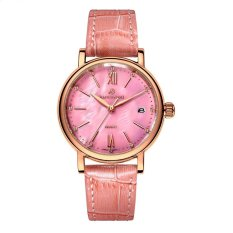 pyonk Polaroid long watch Girls simple fashion genuine waterproof quartz sapphire steel strap watch (Pink) - intl