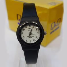 Q&Q Quartz 1237-1 - Rubber Strap - Black