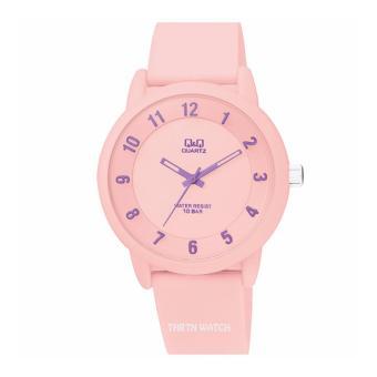 Guess W0040G6 Jam Tangan Pria Kulit - Biru. Source · Q&Q VR52J002Y - Jam Tangan Wanita - Rubber Strap - Pink