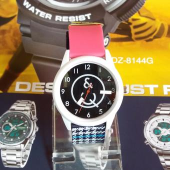 Q&Q Watch - Jam Tangan Wanita - Rubber Strap - VP34J016 - DS