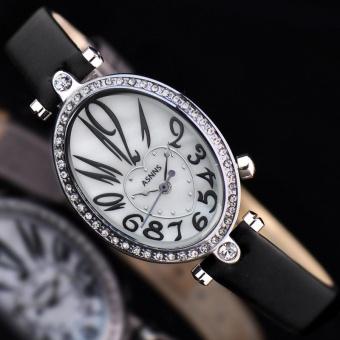 Quzhuo ASNNS Genuine Fashion Ladies Watch Case Diamond Heart-shaped Pattern Dial Quartz Watch Wholesale