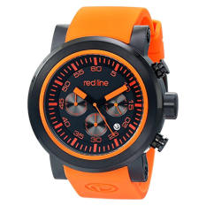 Red Line Men's RL-50050-BB-01-OAS Torque Sport Stainless Steel Watch With Orange Band (Intl)