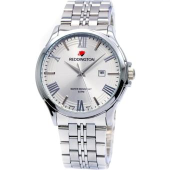 Reddington 8405 - Jam Tangan Pria - Putih - Stainless Steel