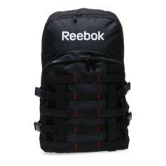 Reebok Strappy Tas Ransel - Hitam-Merah