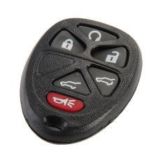 Replacement Keyless Entry Remote Key Fob Shell Case 6 Button For GMC (Intl)
