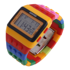 Retro Chic Unisex Digital Constructor Multi Function Watch Sports H (Intl)