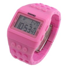 Retro Chic Unisex Digital Constructor Multi Function Watch Sports S (Intl)