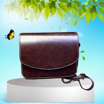 Tas Tangan Wanita Tas Bahu Kulit Mati Utusan Crossbody Bag Coklat. Source · Veevan Tas