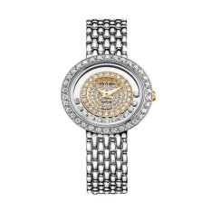 Rhythm Jam Tangan Ladies Collection L1203.02- Jam Tangan Wanita - Silver - Stainless Steel