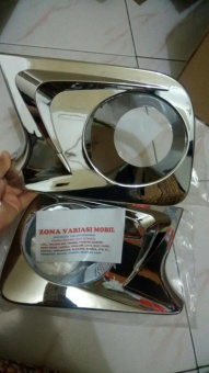 RING / COVER / GARNISH FOGLAMP FOG LAMP ALL NEW AVANZA XENIA CHROME