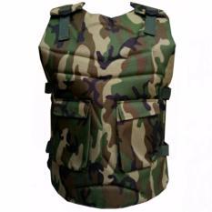 Rompi Motor - Body Protector - Pelindung Dada - Army