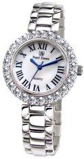 Royal Crown 6305S - Jam Tangan Wanita - Stainless - Rhodium Silver (Free Size)