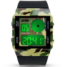 S SHOCK Men Digital Watch Army Waterproof LED Digital-watches Fashion Cartoon Boy's Girl Military Watch (Intl)