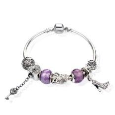 S925 Sterling Silver Bracelet DIY Heart-shaped Bracelet - Phoenix Henme Pan Home Fashion Bracelet CY18-18