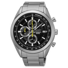 Seiko Chronograph Jam Tangan - Tali Stainless Steel - Silver - SSB175P1