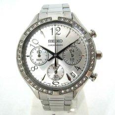 Seiko - Jam Tangan Wanita - Silver-Putih / Stainless Steel - SSB899P1